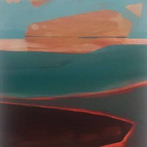 Nuala Clarke, Aurora, Acrylic on board, 35x25cm, 2016